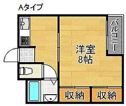メゾン澤田[3階]の間取り