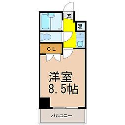 サンシャイン福成[6階]の間取り