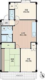 リーナハウス[1階]の間取り