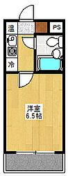 トレンタハウス桜新町[309号室]の間取り