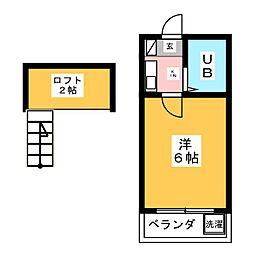 マティアス成田A[2階]の間取り