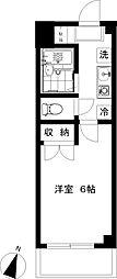 ヒルトップ湘南[1階]の間取り
