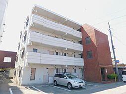 山梨県甲府市下石田2丁目の賃貸マンションの外観
