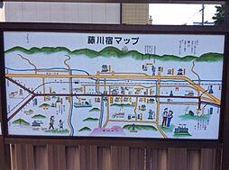 藤川宿マップ