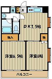 第2コーポレイトハウスセンチュリー[1階]の間取り