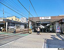 尾山台駅(現地まで800m)