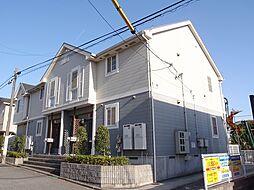 愛知県日進市梅森町新田の賃貸アパートの外観