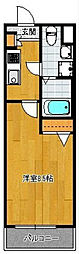 エンクレスト警固[2階]の間取り