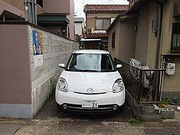 普通車駐車可能...