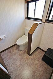 トイレも広いで...