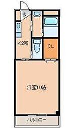 Sento・sa輝[2階]の間取り