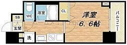 プレサンス本町プライム[8階]の間取り