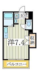 ペルレシュロスPartVIII[5階]の間取り