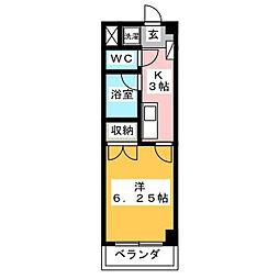グラン・コンフォール三田[3階]の間取り