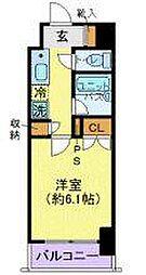 菱和パレス五反田西[9階]の間取り