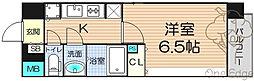 ララプレイス梅田東シエスタ[11階]の間取り