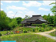 区立赤羽自然観察公園まで500m