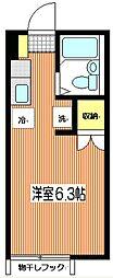 ハイムSHIRAI[103号室]の間取り