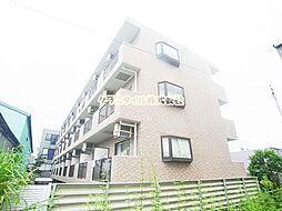 神奈川県厚木市岡田4丁目の賃貸マンションの外観