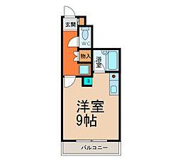 メゾンシャルム[2階]の間取り