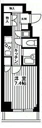 東京都文京区小石川3丁目の賃貸マンションの間取り