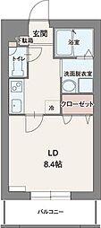 クレマチス[3階]の間取り