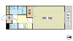 プロニティハウス[3階]の間取り