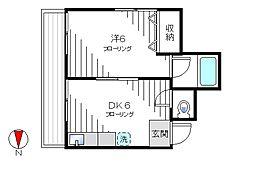 ロックハイムIII[302号室]の間取り