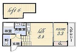 ファミリーステージ川名I[1階]の間取り