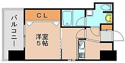 ラファセ箱崎[2階]の間取り