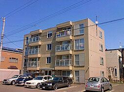 北海道札幌市東区北四十二条東5丁目の賃貸マンションの外観