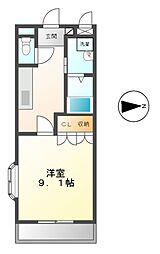 シャトレーン幸世館[2階]の間取り