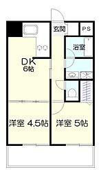 百合ヶ丘シティタワー[1階]の間取り