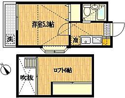 カルタス21宮崎台[2階]の間取り
