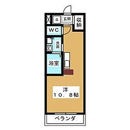フォレスト27[4階]の間取り