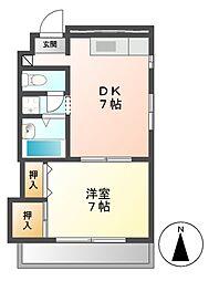 シティライフ栄[7階]の間取り