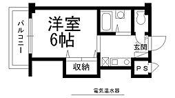 スタジオM[0617号室]の間取り