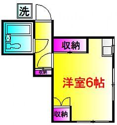 Mビレッジ[1階]の間取り