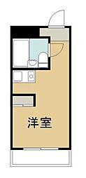 神奈川県川崎市中原区下小田中1丁目の賃貸マンションの間取り