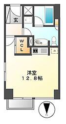 プライムアーバン矢場町[7階]の間取り