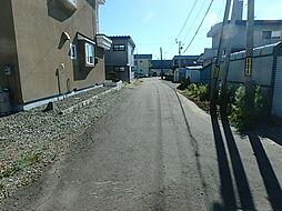 西側周辺道路