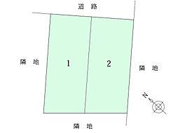 区画図。全2区...