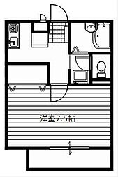 ソレジオ幸子[1階]の間取り
