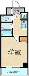 スカイコート三田慶大前[303号室]の間取り