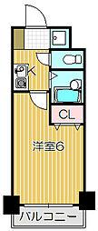 ロアール目黒本町[6階]の間取り