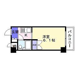 ハイツ大朋[2階]の間取り
