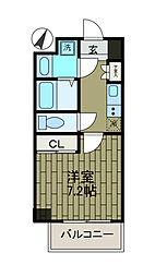 ザ・パーククロス町田[6階]の間取り