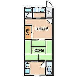 [一戸建] 兵庫県尼崎市大島1丁目 の賃貸【/】の間取り