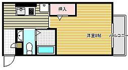 K'SコートII[2階]の間取り