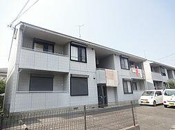 シャトレ岡田B棟[2階]の外観